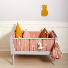 Roommate Ledikant dekbedovertrek - Rabbit Rose