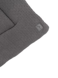 Jollein Boxkleed Bliss Knit - Storm Grey (80 x 100 cm)