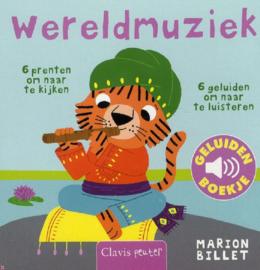 Uitgeverij Clavis Geluidenboekje - Wereldmuziek +1jr