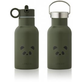 Liewood Anker Waterbottle Drinkfles - Panda Hunter Green (350ml)