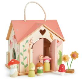 Tender Leaf Cottage Rosewood - Poppenhuis +3j