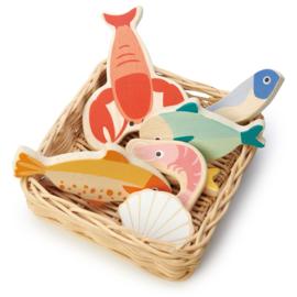 Tender Leaf Markt Mandje Vis - Seafood Basket +3j