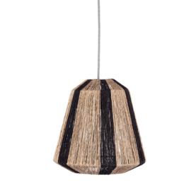 KidsDepot Hanglamp Ven - Zwart/Naturel