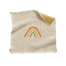 Olli Ella Dinkum Doll Rainbow Blanket - Wikkeldeken regenboog