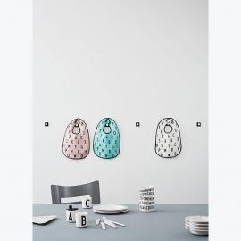 Design Letters Tuit voor op melamine Beker - Wit