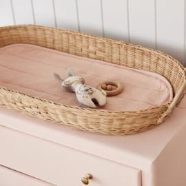Olli Ella Oval Basket - Luxe Matras Rose