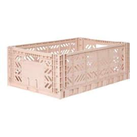 AyKasa Folding Crate Maxi Box - Milk Tea