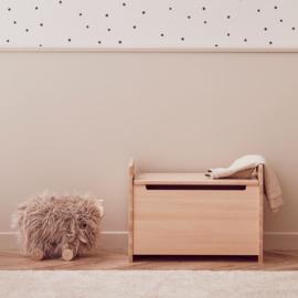 Kids Concept Opbergkist Saga - Blonde