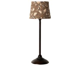 Maileg Poppenhuis Vloerlamp - Antraciet