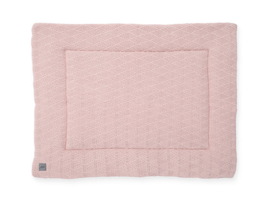 Jollein Boxkleed River Knit - Pale Pink (80 x 100 cm)