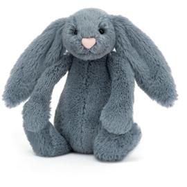 Jellycat Bashful Bunny Dusky Blue - Knuffel Konijn (18 cm)
