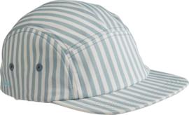 Liewood Pet Rory Cap - Stripe Sea Blue (3-4 jaar)