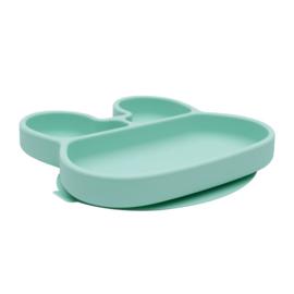 We Might Be Tiny Stickie Plate Bord Konijn - Minty Green