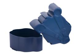 Blafre Snackbox Das - Donker Blauw