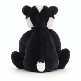 Jellycat Bashful Badger Medium - Knuffel Das (31 cm)