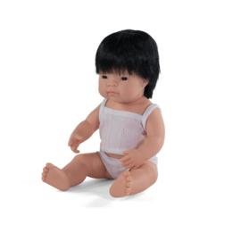 Miniland Pop Aziatisch - Boy (38 cm)