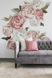Urban Walls Muurstickers - Blushing Peonies