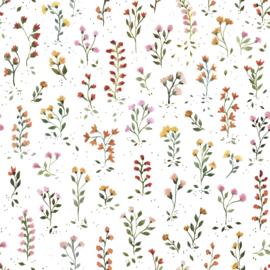 Lilipinso Queyran Behang Sample - Bloemetjes