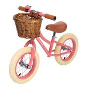 Banwood First Go Girl Balance Loopfiets - Koraal