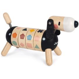 Janod Sweet Cocoon - Hond met Vormen en Kleuren