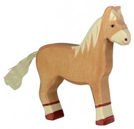 Holztiger Paard - Licht bruin (80033)