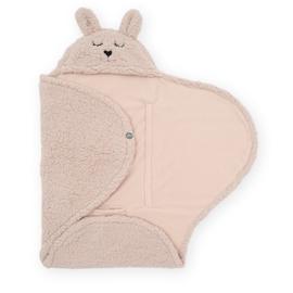 Jollein Wikkeldeken Bunny - Pale Pink