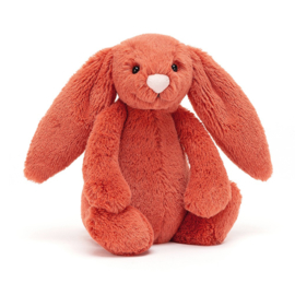 Jellycat Bashful Bunny Cinnamon Small - Knuffel Konijn (18 cm)