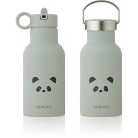 Liewood Anker Waterbottle Drinkfles - Panda Dusty Mint (350ml)