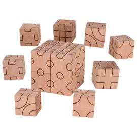 Goki Houten Blokken - Geometrie