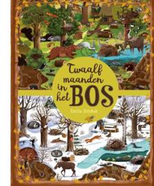 Uitgeverij Gottmer Twaalf maanden in het Bos - Emilia Dziubak