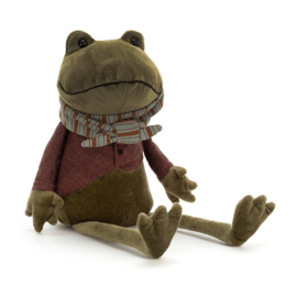 Jellycat Riverside Rambler Frog - Knuffel Kikker