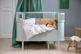 Sebra Kili Baby en Junior Bed - Forest Lake Blue