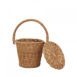 Olli Ella Little Apple Basket - Naturel
