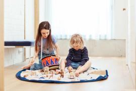 Play and Go Speelgoedkleed en opbergzak - Circus (dubbelzijdig!)