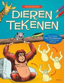 Uitgeverij Deltas Handboek Dieren Tekenen (op=op)