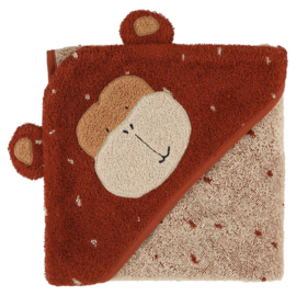 Trixie Badcape Hooded Towel Mr. Monkey - Aap