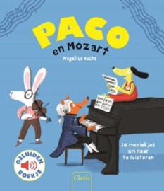 Uitgeverij Clavis Paco en Mozart - Geluidenboekje +3jr