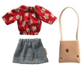 Maileg Mum Mouse Clothes - Mama Muis Kledingset