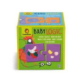 Ludattica Puzzel Baby Logic - Ouders en Baby + 3jaar