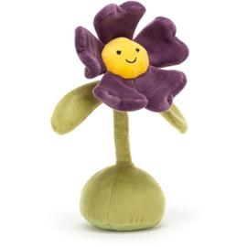 Jellycat Flowerlette Pansy - Knuffel Viooltje (21 cm)