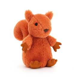 Jellycat Nippit Knuffel Eekhoorn - Squirrel (13 cm)