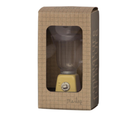 Maileg Blender Poppenhuis - Miniature Blender Yellow