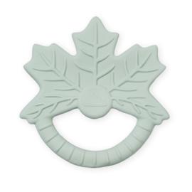 CamCam rubber bijtspeeltje blad - Maple Leaf Dusty Green