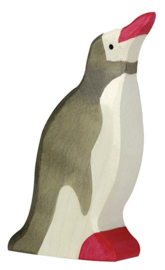 Holztiger Pinguin - Kop omhoog (groot) (80210)