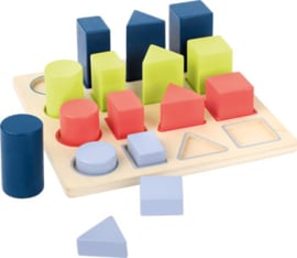 Small Foot Educate - Puzzel Geometrische Vormen + 3jr