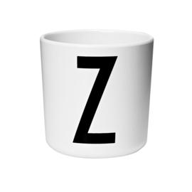 Design Letters Melamine Drinkbeker - Letter Z