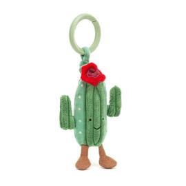 Jellycat Amuseable Cactus Jitter - Vibrerende Babyspeeltje Cactus