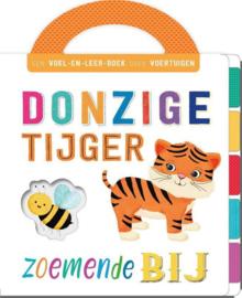 Uitgeverij Rebo Flapjesboek Donzige Tijger, Zoemende Bij s +1jr