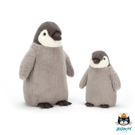 Jellycat Scrumptious Percy Penguin Large - Knuffel Pinguin (36 cm)