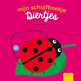 Uitgeverij Clavis Schuifboekje - Diertjes +1jr